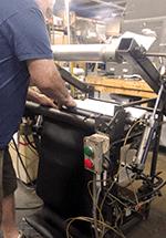 Rubber Compression Press