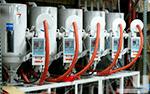 5 Hopper Plastic Drying System