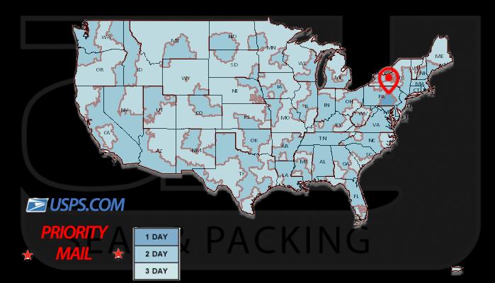 USPS Transit Map