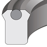 PolyPak®/LOADED LIP SEAL - BEVELED - INCH