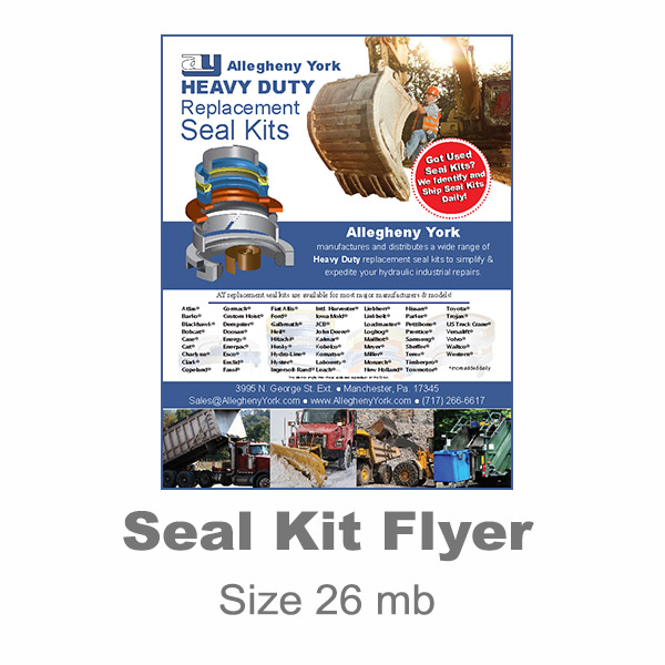 Seal Kit Flyer