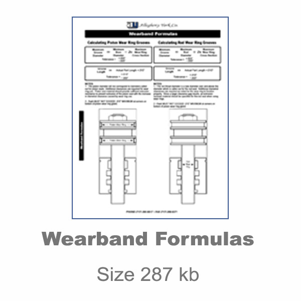 Wearband Formulas