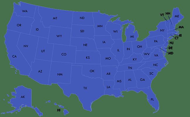 Russel Moser Territory Map